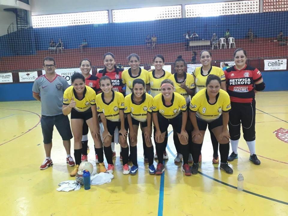 Futsal feminino de Peixoto joga este final de semana em casa pela Copa  Centro América
